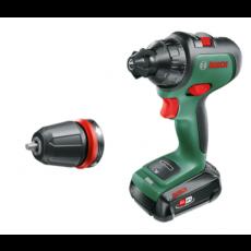 Aku odvijač-bušilica Bosch AdvancedDrill 18 (1x2,5 Ah + punjač) - sa baterijom i punjačem