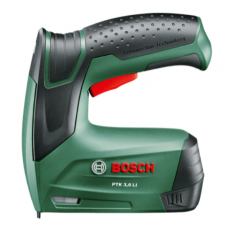Aku pribijač Bosch PTK 3,6 LI (USB punjač, 1 x 1,5 Ah) - sa baterijom i punjačem