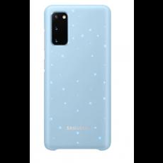 LED maska za Samsung Galaxy S20 nebesko plava EF-KG980CLEGEU
