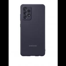 Silikonska maska za Samsung Galaxy A52 crna EF-PA525TBEGWW