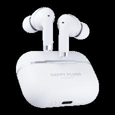 Happy Plugs Air1 ANC bežične slušalice bijele