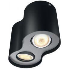 Reflektorska svjetiljka Philips Pillar HUE crna 2x5.5W 230