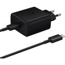 Punjač Samsung TA845 45W Fast Charge USB-C crni EP-TA845XBEGWW