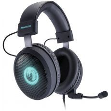 Nacon PC Aplified Gaming Headset za PC/Mac/PS4 GH-300SR, virtual surround, removable mic, light effects, 40mm speakers, inline remote control, cable lenght 2.5m crne