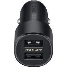 Autopunjač Samsung Dual Port Fast Charge crni EP-L1100NBEGWW