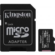 Kingston 128GB micSDHC Canvas Select Plus 100R + ADP