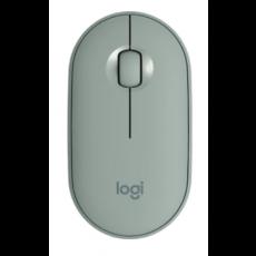 Logitech miš Pebble M350 bežični, zeleno sivi