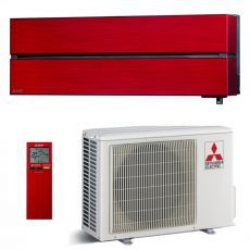 Klima uređaj 3,5kW Mitsubishi Electric MSZ-LN, crvena, MSZ-LN35VGR/MUZ-LN35VG