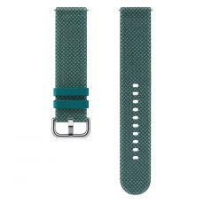 Dodatni silikonski remen za Samsung Galaxy Watch active 2 tekstilni zeleni ET-SKR82MGEGEU