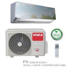 Klima uređaj 3,5kW Vivax R design, silver mirror, ACP-12CH35AERI