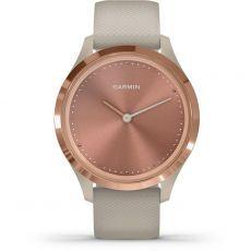Pametni fitness sat Garmin vivomove 3S Rose Gold Light sand