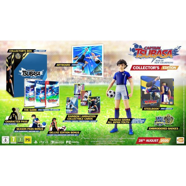 Captain Tsubasa: Rise of New Champions Collector's PS4