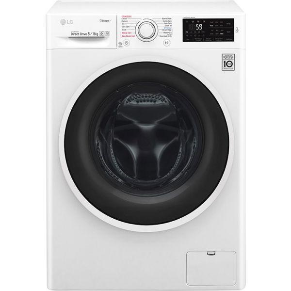 Perilica-sušilica rublja LG F4J6TG0W, 8/5kg, pranje parom, A