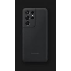 Silikonska maska za Samsung Galaxy S21 Ultra crna EF-PG998TBEGWW