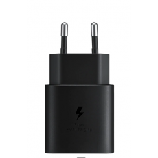 Punjač Samsung TA800 25W Fast Charge USB-C crni bez kabela EP-TA800NBEGEU