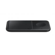 Bežični punjač Samsung Duo 30W za 2 mobitela ili sat crni EP-P4300TBEGEU
