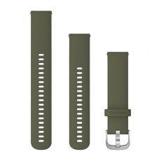 Zamjenski remen Garmin za vivomove3S/3/Style 20mm - Moss green (srebrna kopča)