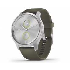 Pametni fitness sat Garmin vivomove Style Silver Moss green