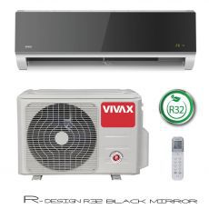 Klima uređaj Vivax ACP-12CH35AEVI R32 Cool V DESIGN inverter, gray mirror,komplet