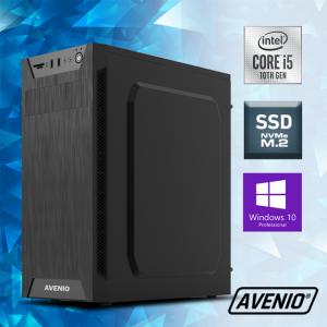 Računalo Avenio ProOffice Intel Core i5 10400 2.90GHz 8GB 256GB NVMe SSD DVDRW W10P Intel UHD Graphics 630