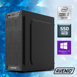 Računalo Avenio ProOffice Intel Core i7 10700 2.90GHz 8GB 256GB NVMe SSD DVDRW W10P Intel UHD Graphics 630