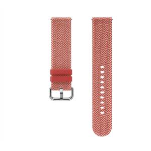 Dodatni silikonski remen za Samsung Galaxy Watch active 2 tekstilni narančasti ET-SKR82MREGEU