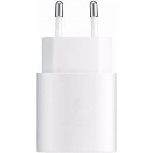 Punjač Samsung TA800 25W Fast Charge USB-C bijeli bez kabela EP-TA800NWEGEU