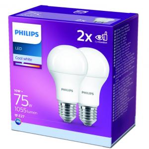 Žarulja Philips LED 75W A60 E27 Cool White FR ND 2SRT6, 2kom