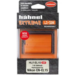 Hähnel HLX-EL15HP 2000mAh zamjenska extreme baterija za EN-EL15 bateriju za Nikon digitalne fotoaparate