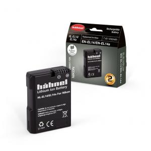Hähnel HL-EL14 1050mAh zamjenska baterija za EN-EL14 bateriju za Nikon digitalne fotoaparate