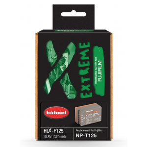 Hähnel HLX-F125 1370mAh zamjenska extreme baterija za NP-T125 bateriju za FujiFilm digitalne fotoaparate