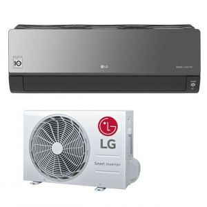 Klima uređaj 3,5kW LG ArtCool Smart Inverter, Black Mirror, AM12BP