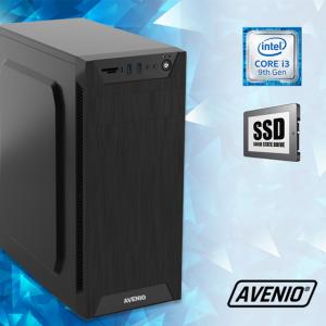 Računalo Avenio TopOffice Intel Core i3 9100 3.60GHz 8GB 240GB SSD DVDRW FreeDOS Intel UHD Graphics 630