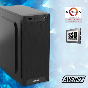 Računalo Avenio TopOffice AMD Athlon 3000G 3.50GHz 8GB 240GB SSD DVDRW FreeDOS Radeon Vega 3 Graphics
