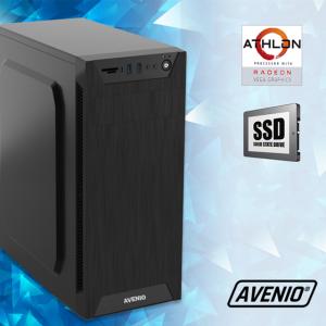 Računalo Avenio TopOffice AMD Athlon 3000G 3.50GHz 8GB 480GB SSD DVDRW FreeDOS Radeon Vega 3 Graphics