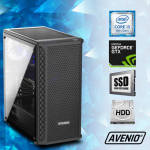 Računalo Avenio TopGamer Intel Core i3 9100F 3.60GHz 8GB 240GB SSD + 1TB HDD FreeDOS nVidia GeForce GTX 1650 SUPER 4GB GDDR6