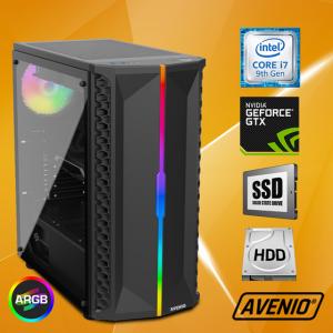 Računalo Avenio OptiGamer Intel Core i7 9700 3.00GHz 16GB 480GB SSD + 1TB HDD FreeDOS nVidia GeForce GTX 1660 SUPER 6GB GDDR6