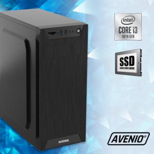 Računalo Avenio TopOffice Intel Core i3 10100 3.60GHz 8GB 256GB SSD DVDRW FreeDOS Intel UHD Graphics 630