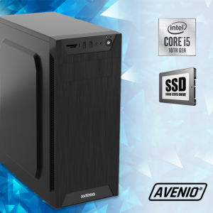 Računalo Avenio TopOffice Intel Core i5 10400 2.90GHz 8GB 256GB SSD DVDRW FreeDOS Intel UHD Graphics 630
