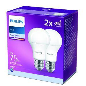 Žarulja Philips LED  E27, 75W, Cool White, 2kom*