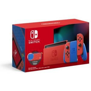Nintendo Switch Console - Blue Joy-Con Mario Red & Blue Special Edition