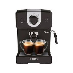 Outlet_Aparat za kavu Krups XP320830 espresso kava, crni - SERVISIRAN UREĐAJ, JAMSTVO DO 30.12.2022.