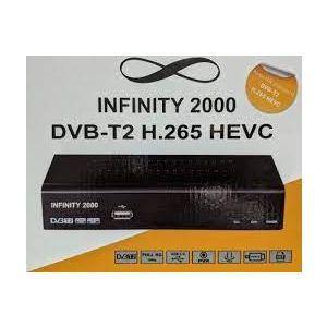 Outlet_DVB-T2 HEVC prijemnik INFINITY 2000 - SERVISIRAN UREĐAJ