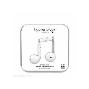Outlet_Happy Plugs Earbud Plus slušalice bijele - IZLOŽBENI UREĐAJ