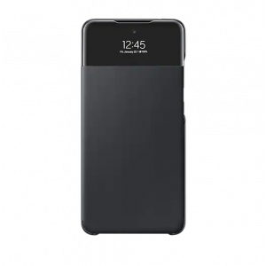 S view preklopna maska za Samsung galaxy A52 crna EF-EA525PBEGEE