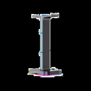 GAMENOTE DRŽAČ ZA SLUŠALICE TH650 2 X USB