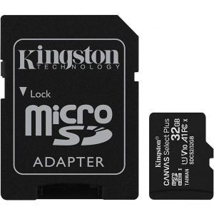 Kingston 32GB micSDHC Canvas Select Plus 100R + ADP