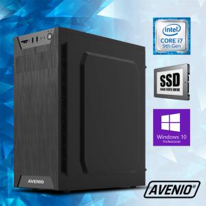 Računalo Avenio ProOffice Intel Core i7 9700 3.00GHz 8GB 256GB SSD DVDRW W10P Intel UHD Graphics 630