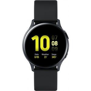 Sat Samsung Galaxy Watch Active 2 40mm aqua crni aluminij aqua crni silikonski remen SM-R830NZKASEE
