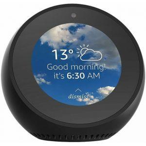 Budilica pametna Amazon Echo Spot black